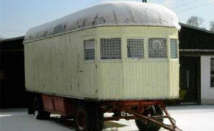 Historische Holzwagen