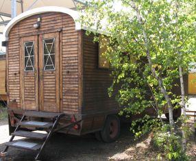 Lärchenholzwagen