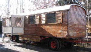 Zirkuswagen mit Veranda