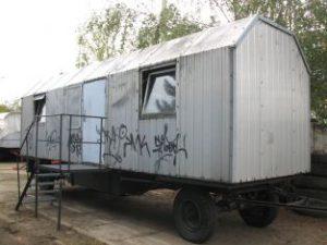 Alu-Bauwagen