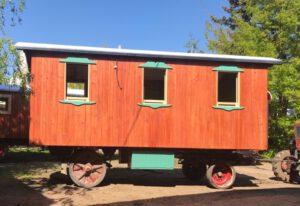 Holzwagen